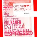 2011: Openbaar Schrijver: Liefdesbrieven voor Valentijn * Public writer for Valentine's day