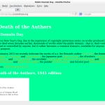 The Death of the Authors: Remix van werken uit het publieke domein * Remixing works of the public domain